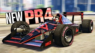 GTA 5 Online - NEW Progen PR4 Customization! (F1 Car Diamond Casino Heist)