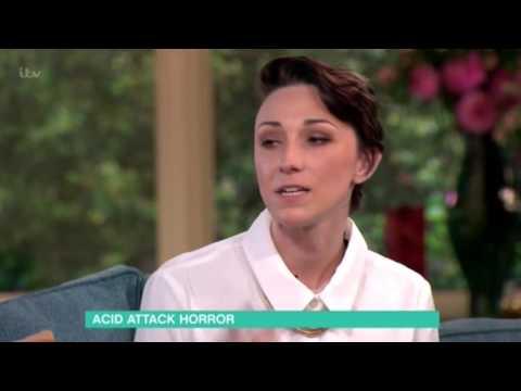 Acid attack victim Adele Bellis speaks out