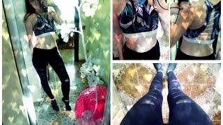 Одежда для Фитнеса Боди. Примерка Одежды/Amazing Sport Clothes From Megasoft Fitness