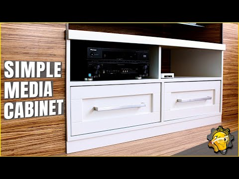 Making a Simple Media Cabinet