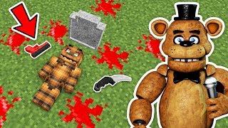 KORKUNÇ AYI FREDDY KİM ÖLDÜRDÜ? - Minecraft