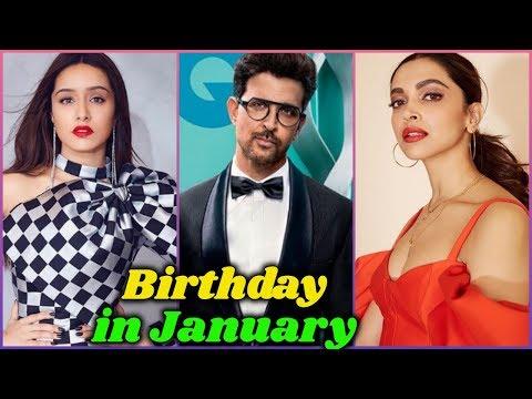 Bollywood Stars Birthday In January