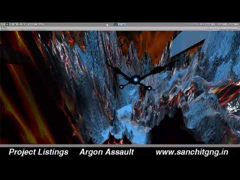 Argon Assault Unity 3D game development