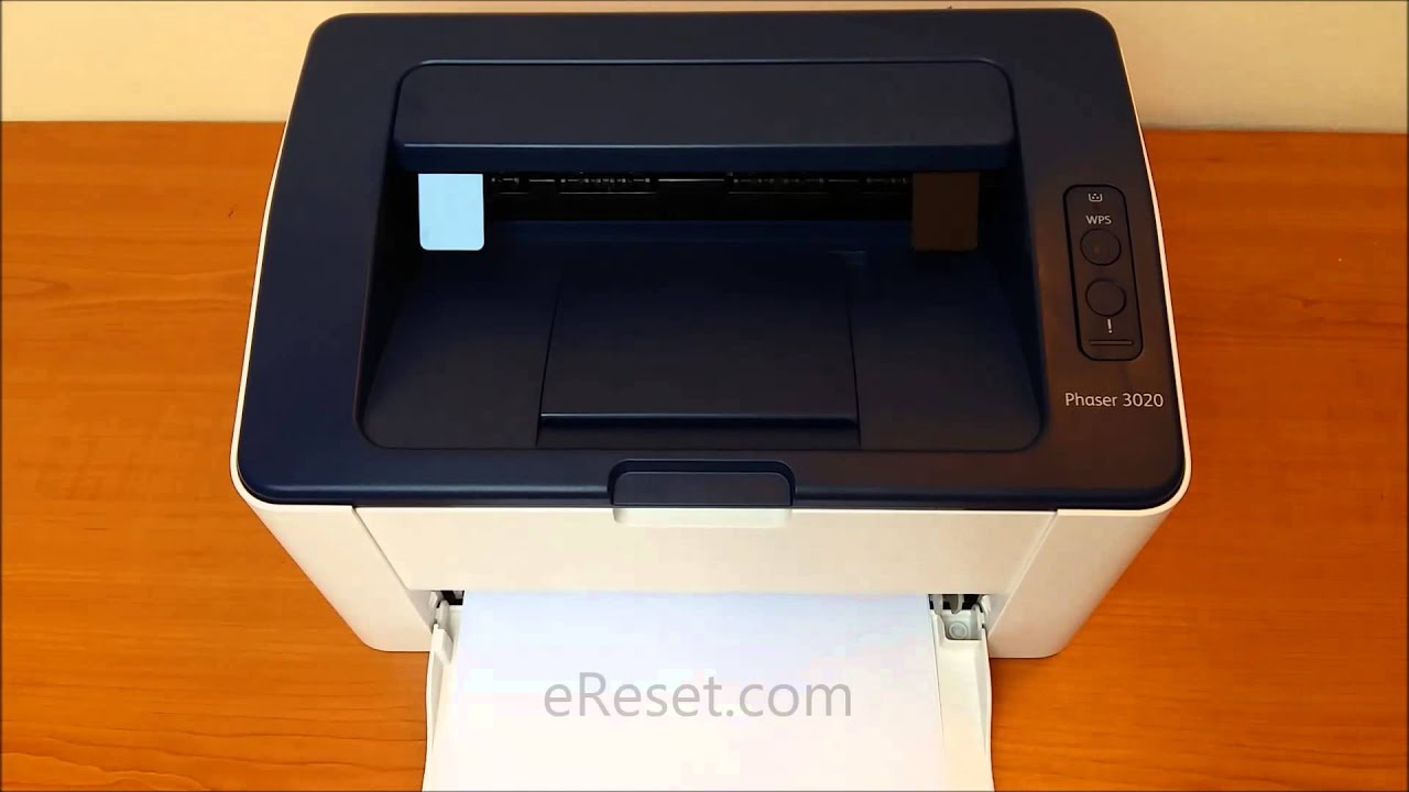 Xerox Phaser 3020 Download Mode - prepare reset - YouTube