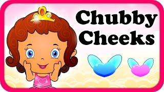 Chubby Cheeks Dimpled Chin Lyrical Video | English Nursery Rhymes Full Lyrics For Kids & Children