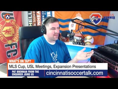 Cincinnati Soccer Talk LIVE - Episode 95 | FC Cincinnati