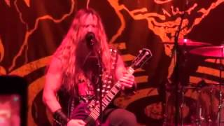 "Zakk Sabbath plays Black Sabbath ""War Pigs""(First Half) at NAMM 2017 Party 1/21/2017"