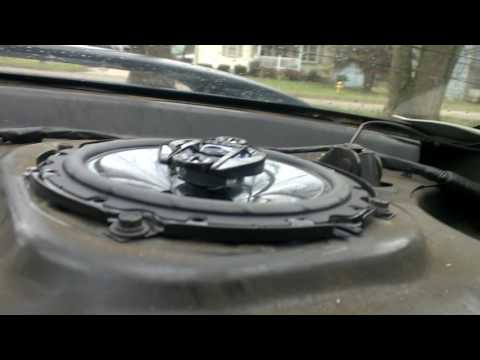 How to Install Speakers, into the Saturn S-Series(Rear)
