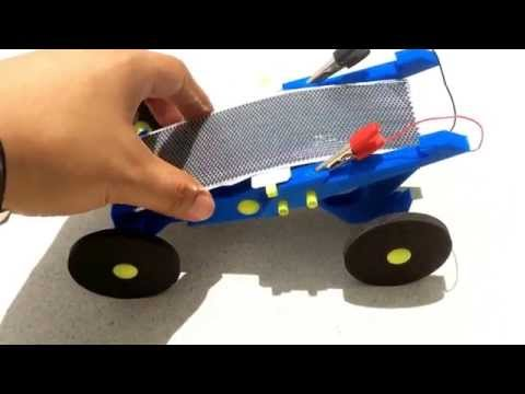 Solar Powered Car EV toy