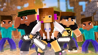Minecraft: ESTAMOS CERCADOS !!! ( Bed Wars )