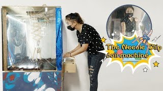 E14  DIY the clip dolls machine for the cool girls!  | Ms Do