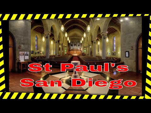 TourBus goes to St. Paul's Cathedral with Dr. Carol Williams, trailer