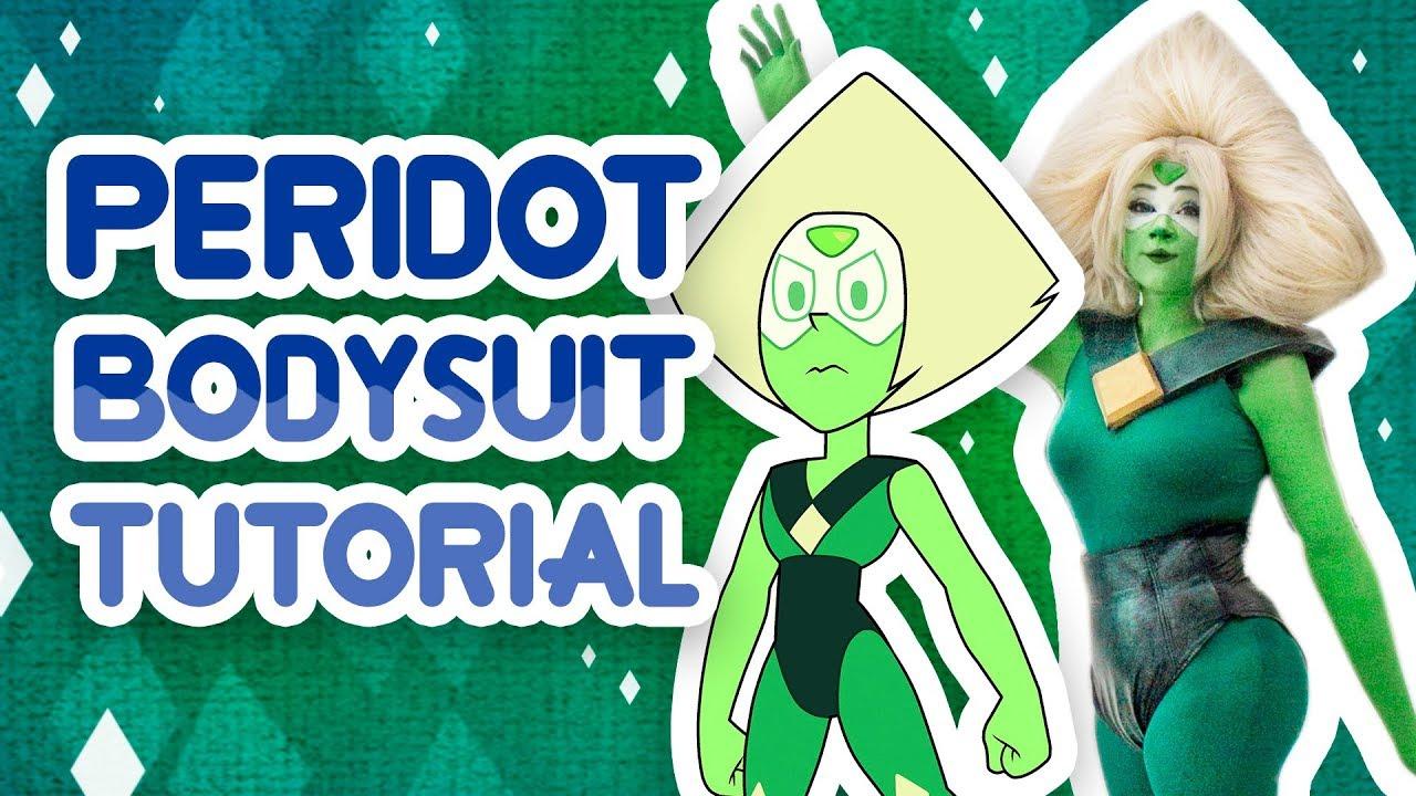 Steven Universe Peridot Cosplay Costume