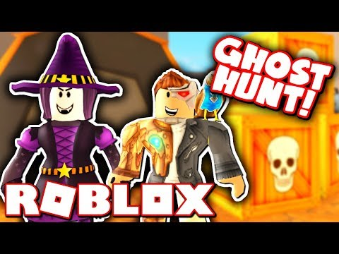 THE ROBLOX HIGH SCHOOL GHOST HUNT!! *Can You Catch Them All?!*