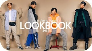 Rain/Trench-Coat LOOKBOOK 2018