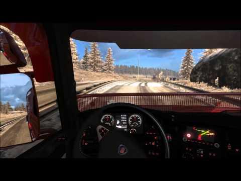 Euro Truck Simulator 2 Dijon to Milano