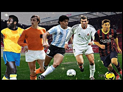 Top 20 Greatest Football Players Of All Time || HD