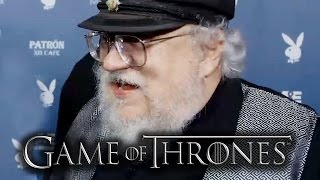 """George R.R. Martin """"Game of Thrones"""" Talks South Park Episode - Comic Con 2014"""