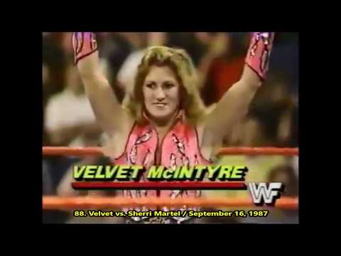 Velvet McIntyre - All Giant Swings, Dropkicks & Elbows - 2019 Moves
