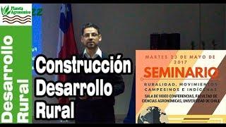 Construcción del desarrollo rural desde las perspectivas de la sociedad civil – Luis Pezo Orellana