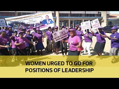 Women urged to go for positions of leadership