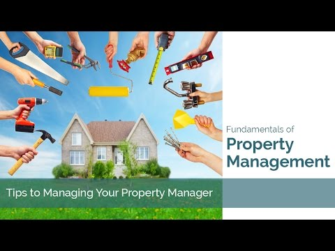 Fundamentals of Property Management