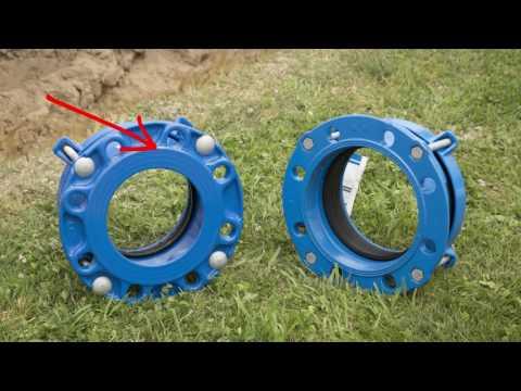 Installation of unrestrained mechanical couplings Iplex Movie #1