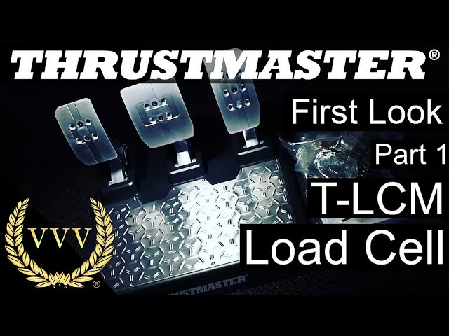 Thrustmaster T-LCM Pedals Unboxing and Review: Part 1