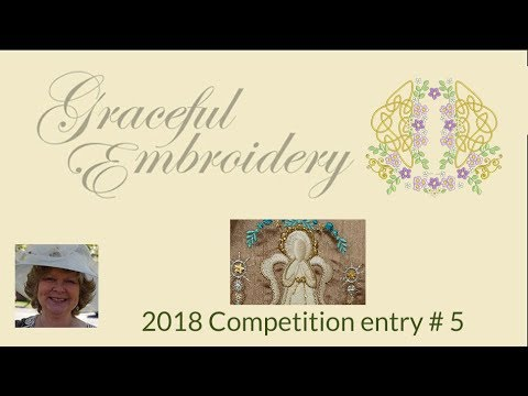 Graceful Embroidery 2018 competition entry 5