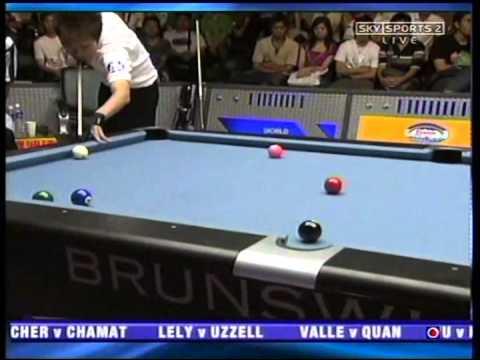 Jung-Lin Chang vs Francisco Bustamante - World Pool Championship 2005 (1/32)