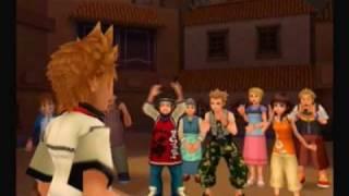 Kingdom Hearts 2 Walkthrough 2 Part 9-Kairi Can Remember Name
