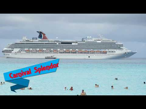 Carnival Splendor Ship Tour | Bahamas Cruise| September 2017