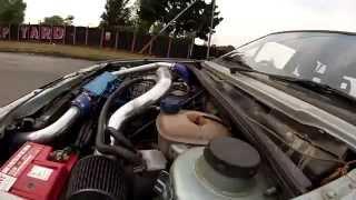 VW Golf MK2 1.8 8V Turbo, testing stock engine mounts