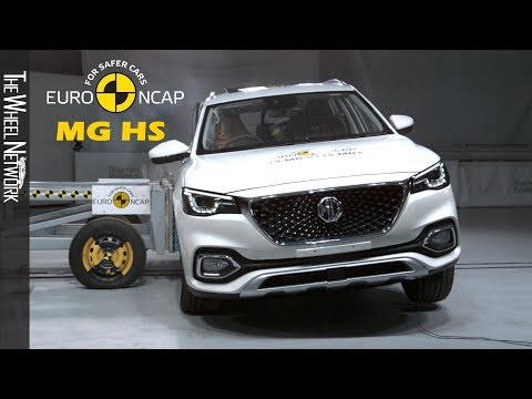 MG HS Safety Tests Euro NCAP | December 2019 Ratings
