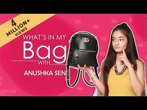 Anushka Sen: What's In My Bag  | India Forums Exclusive