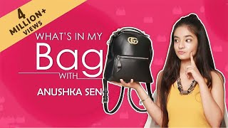 What's In My Bag With Anushka Sen | Exclusive | India Forums thumbnail