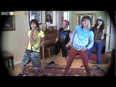 """Just Dance 3 Kinect: """"PUMP IT"""" Group Practice RAW footage, """"Helpful TIPS"""" & Performance!"""