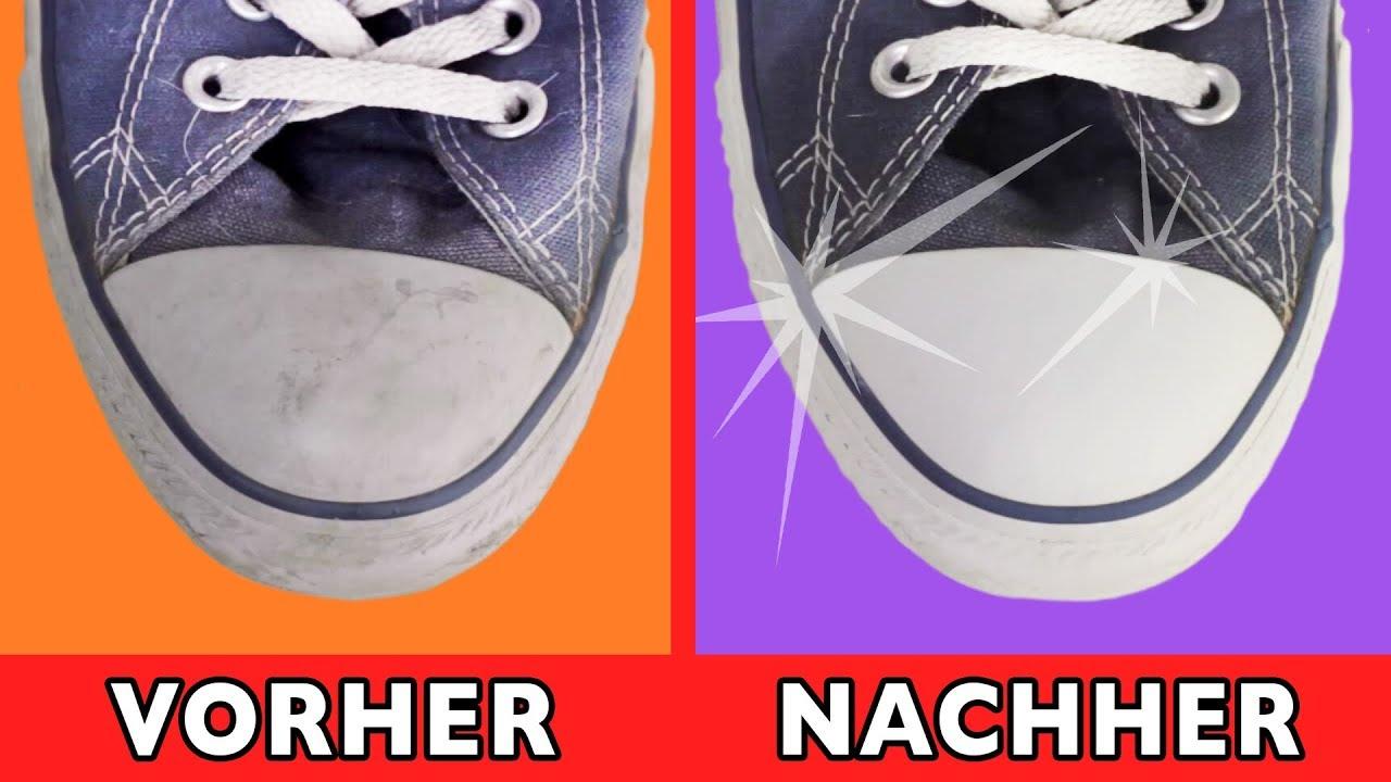 So sehen deine Schuhe aus wie neu! Es geht schnell und kinderleicht.