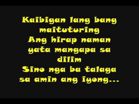 Callalily Pansamantala Hd Lyrics