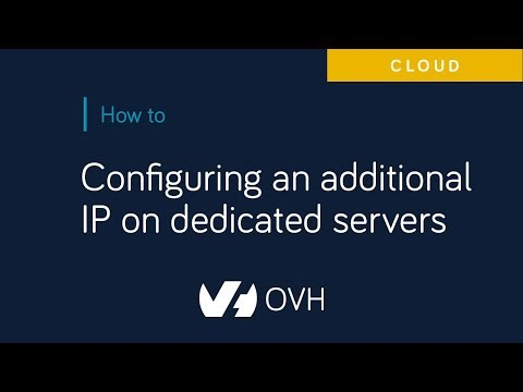 Configuring a network bridge | OVH Guides