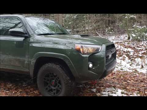 Oscars First Outing!!! The 2020 Army Green TRD Pro Finally Gets Dirty