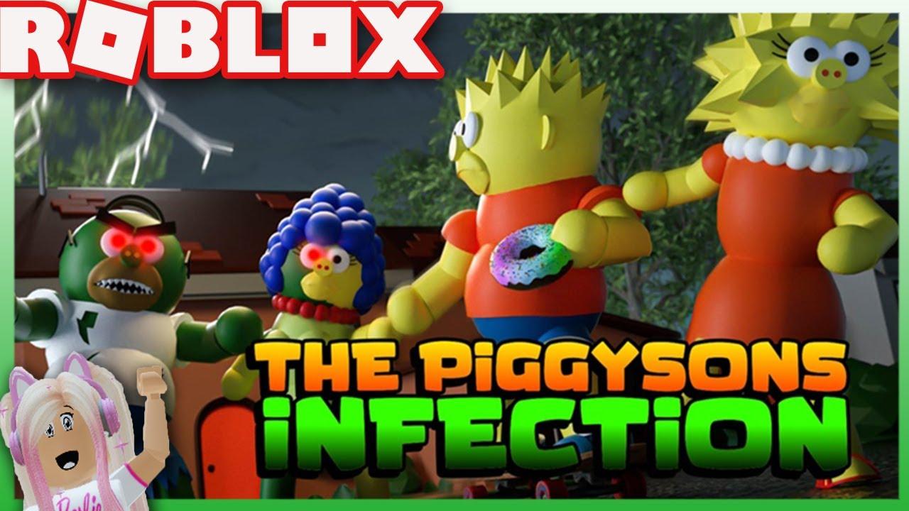 Roblox Piggysons Modo Infección! Jugamos varios mapas!!