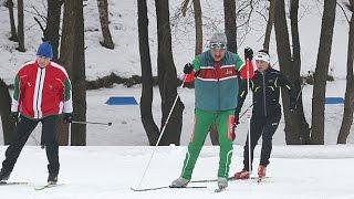 Лукашенко опробовал биатлонную трассу «Раубичи»
