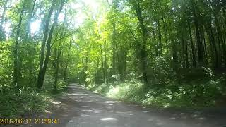 rowerem przez las olsztyn las miejski