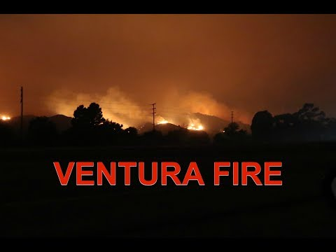 #thomasfire in Ventura