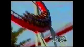 Порт Авентура * АМЕРИКАНСКИЕ ГОРКИ * Dragon Khan. Шторм(2001 год. Испания. Порт Авентура. Парк развлечений. Видео ролик * Американские горки * ( В Европе они называются..., 2015-02-05T20:54:12.000Z)