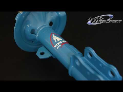 Tokico HP Series Shocks/Struts (Tokico Blue) Features
