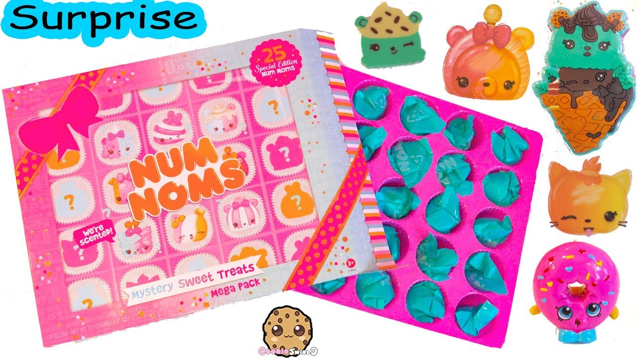 Biggest Box Of Num Noms Ever Mystery Sweet Treats