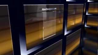 Slatwall Acrylic Sign Holder 8.5 Inch X 11 Inch .avi