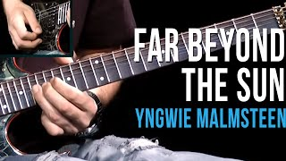 Yngwie Malmsteen - Far Beyond The Sun - Aula de Guitarra